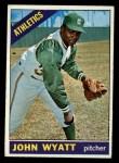 1966 Topps #521  John Wyatt  Front Thumbnail