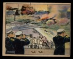 1941 Gum Inc. Uncle Sam Home Defense #23   Target Practice With The Turret Guns Front Thumbnail