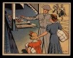 1941 Gum Inc. Uncle Sam Home Defense #118   Public Shelter Front Thumbnail