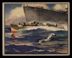 1939 Gum Inc. World In Arms #9 S  German Motor Torpedo Boat Front Thumbnail