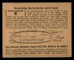 1939 Gum Inc. World In Arms #8 M  Devastating Martin-Barlow Aerial Bomb Back Thumbnail