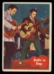 1956 Topps / Bubbles Inc Elvis Presley #41   Rockin' on Stage Front Thumbnail