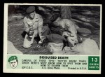 1966 Philadelphia Green Berets #13   Disguised Death Front Thumbnail
