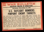 1965 Philadelphia War Bulletin #30   We're Hit! Back Thumbnail