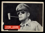 1965 Philadelphia War Bulletin #86   Living Legend Front Thumbnail
