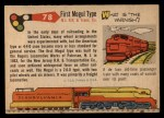 1955 Topps Rails & Sails #78   First Mogul Type Back Thumbnail