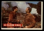 1956 Topps Davy Crockett #22 GRN  A Close Call  Front Thumbnail