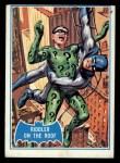 1966 Topps Batman Blue Bat Back #37 BLU  Riddler on the Roof Front Thumbnail