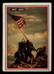 1953 Topps Fighting Marines #43   Iwo Jima Front Thumbnail