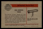 1953 Bowman Firefighters #36   1925 Chemical Truck Back Thumbnail