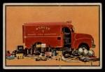 1953 Bowman Firefighters #44   Modern Rescue Truck - GMC Front Thumbnail