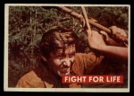 1956 Topps Davy Crockett #30 GRN  Fight For Life  Front Thumbnail