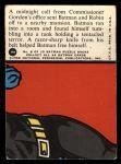 1966 Topps Batman Red Bat #8 RED  Tentacled Terror Back Thumbnail