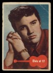 1956 Topps / Bubbles Inc Elvis Presley #35   Elvis at 17 Front Thumbnail