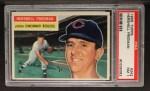 1956 Topps #242  Hersh Freeman  Front Thumbnail