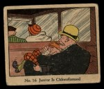 1931 Johnson Candy Dick Tracy R41 #16   Junior is Chloroformed Front Thumbnail