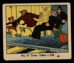 1931 Johnson Candy Dick Tracy R41 #75   Tracy Takes Fall Front Thumbnail