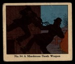 1931 Johnson Candy Dick Tracy R41 #94   Murderous Death Weapon Front Thumbnail