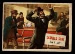 1954 Topps Scoop #9   Garfield Shot Front Thumbnail