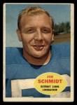 1960 Topps #46  Joe Schmidt  Front Thumbnail