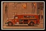 1953 Bowman Firefighters #5   Modern Fire Dept. Ambulance Front Thumbnail