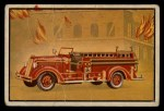 1953 Bowman Firefighters #32   Modern Pumping Combination - 1949 Seagrave Front Thumbnail