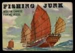 1955 Topps Rails & Sails #149   Fishing Junk Front Thumbnail