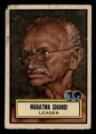 1952 Topps Look 'N See #65  Mahatma Ghandi  Front Thumbnail