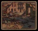 1938 Gum Inc. Horrors of War #206   The Deserted Village Front Thumbnail