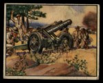 1939 Gum Inc. War News Pictures #71   French 75Mm Howitzer Front Thumbnail