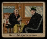 1931 Johnson Candy Dick Tracy R41 #131   Safe From the Avengers Front Thumbnail
