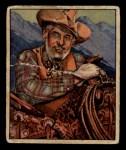 1949 Bowman Wild West #10 H Raymond Hatton  Front Thumbnail