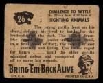 1950 Topps Bring Em Back Alive #26   Challenge To Battle Back Thumbnail