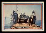 1953 Topps Fighting Marines #3   Landing Tank Front Thumbnail