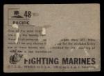 1953 Topps Fighting Marines #48   Lowering Bomb Back Thumbnail