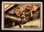 1953 Topps Fighting Marines #48   Lowering Bomb Front Thumbnail