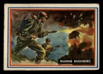 1953 Topps Fighting Marines #57   Marine Engineers Front Thumbnail