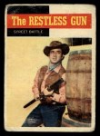 1958 Topps TV Westerns #56   Street Battle  Front Thumbnail