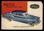 1954 Topps World on Wheels #99   Buick Roadmaster 1953 Front Thumbnail
