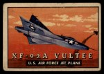 1952 Topps Wings #142   XF-92A Vultee Front Thumbnail