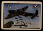 1952 Topps Wings #4   Lincoln Front Thumbnail