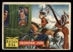 1956 Topps Round Up #30   -  Buffalo Bill  Frontier Fun Front Thumbnail