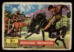 1956 Topps Round Up #72   -  Kit Carson Bucking Broncos Front Thumbnail
