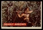 1956 Topps Davy Crockett #10 GRN  Deadly Arrows  Front Thumbnail