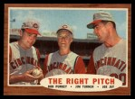 1962 Topps #263   -  Bob Purkey / Jim Turner / Joey Jay The Right Pitch Front Thumbnail