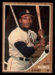 1962 Topps #491  Leon Wagner  Front Thumbnail