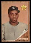 1962 Topps #451  Jose Tartabull  Front Thumbnail