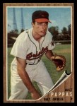 1962 Topps #75  Milt Pappas  Front Thumbnail