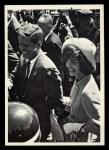 1964 Topps JFK #22   JFK & Jackie At Bogota Col. Front Thumbnail