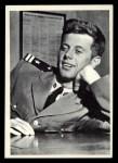 1964 Topps JFK #12   Lt. Kennedy Relaxes Front Thumbnail